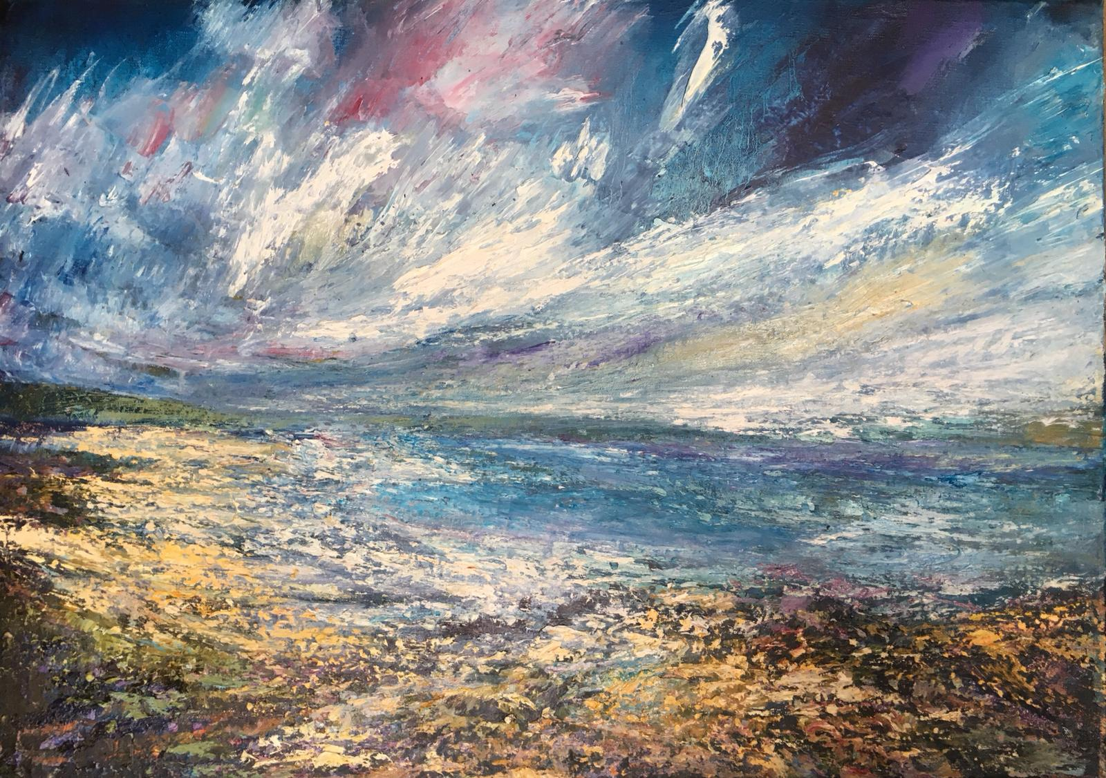 Inishboffin Connemara -  oil on linen,  50cm x 70cm £2400