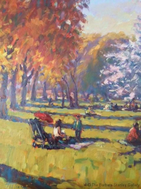 Hyde-Park-20x24in-oil-on-board