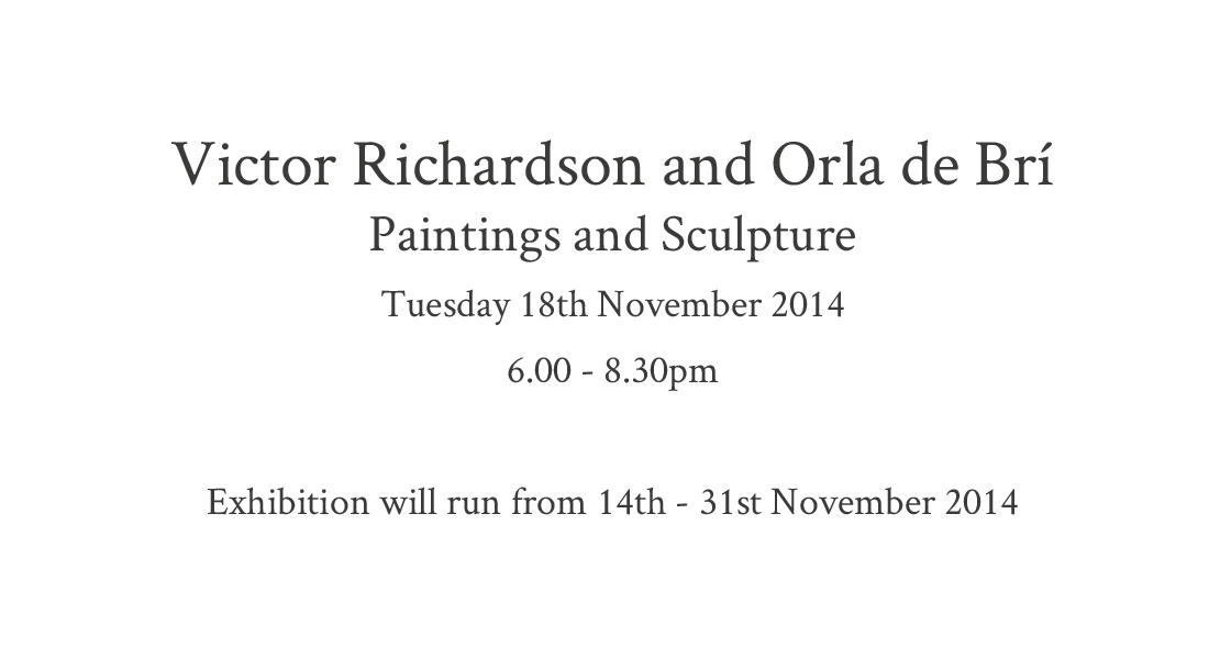 Text for Victor and Orla - Nov 2014