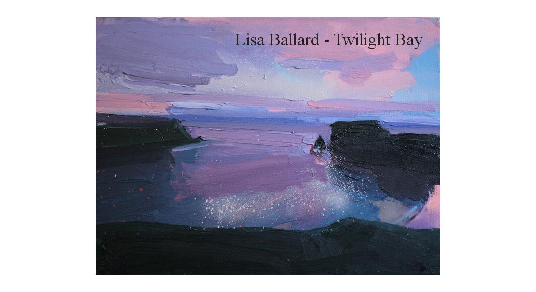 Lisa Ballarda twilight-bay-12-x-16in