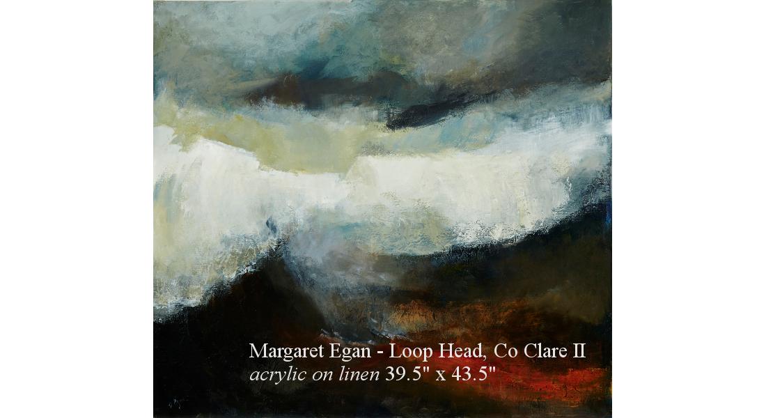Margaret Egan, Loop Head Co Clare II acrylic on linen 39.5 x 43.75in web homepage