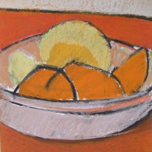 Auribeau Still life I, Pastel on paper, 28 x 20 cm, 11x8in