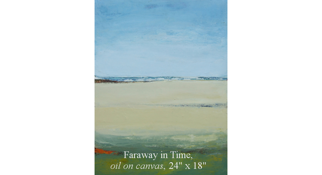 Faraway in Time, Oil on canvas, 61 x 46 cm, 24 x 18in HOMEPAGE