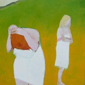 Sligo Bathers II, (Lissadell), Oil on canvas, 92 x 61 cm, 36 x 24in