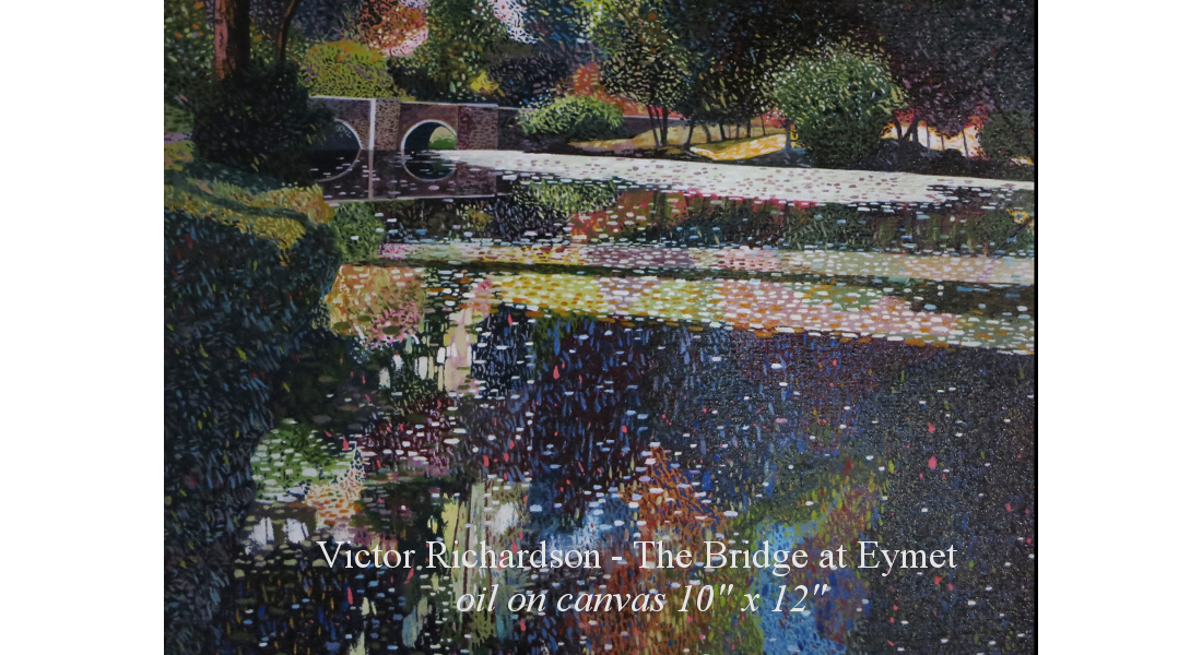 The Bridget At Eymet oil on canvas 10 x 12 homepage