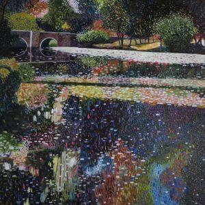 The Bridget At Eymet oil on canvas 10 x 12. web