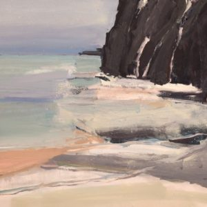 ballintoy-cliff-oil-on-canvas-24-x-31in-1800